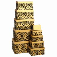 GIFT BOX SET OF 10 GOLD
