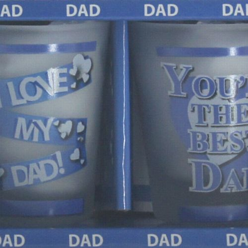 Dad TOT Glasses Pack of 2