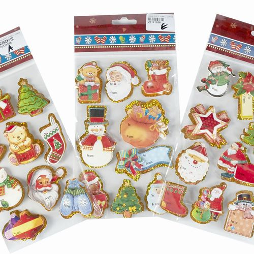 Christmas Stickers Assorted