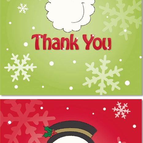 Thank You Christmas Cards