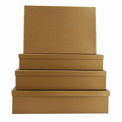Box Set 4 W/Diamond - Gold