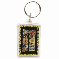 South Africa Keyring