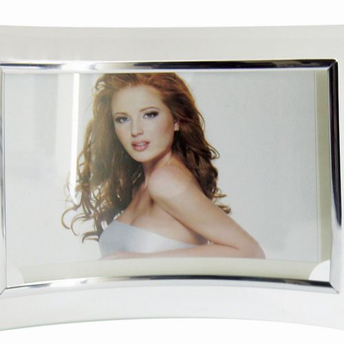 Glass Photo Frame Curved
