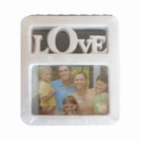 LOVE FRAME WHITE