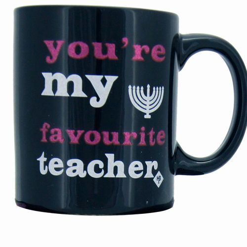 Teacher mug in a box