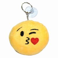 Emoji pillow keyring