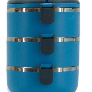 Food Flask Blue 3