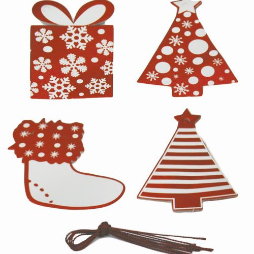 Christmas Gift Tags with String