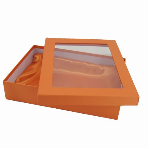 Box with Window and Satin Inside