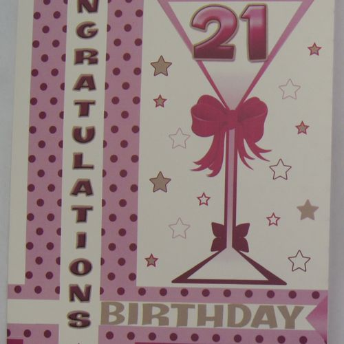 21st Birthday Greeting Cards (5)