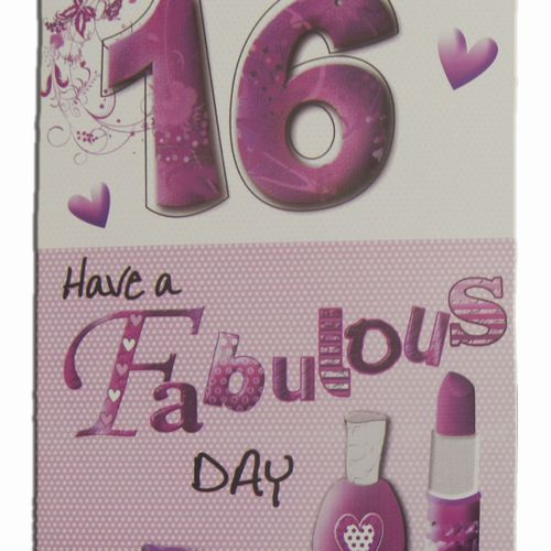 16th Birthday Greeting Cards (5)