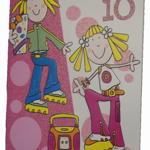 Happy Birthday 10 Years Greeting Cards (6)