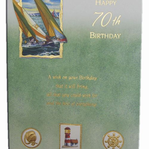 70th Birthday Greeting Cards (6)