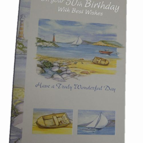 50th Birthday Greeting Cards (5)